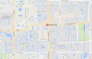 Car Crash With Two Adults Hurt in Delray Beach, Florida