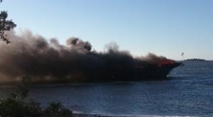 Boat Fire 11518