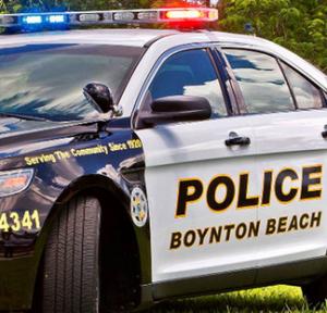 Boynton Police car 2618