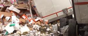 Truck spill 3818